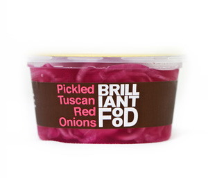 Pickled Tuscan Red Onions 190g