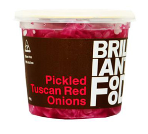 Pickled Tuscan Red Onions 400g