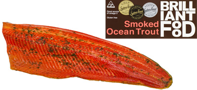Smoked Ocean Trout (whole fillet)